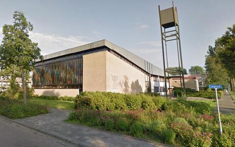 Kerkgebouw de Menorah in de Drachtster wijk De Wiken.