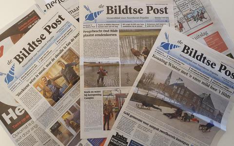 Recente uitgaven van Bildtse Post.