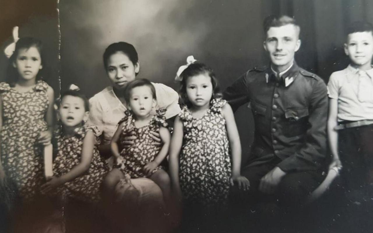 Het gezin van Ligthart en Bremer.