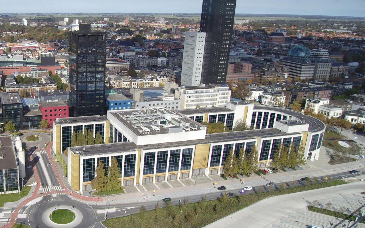 In het voormalige Aegongebouw in Leeuwarden zijn in 2019 vijfhonderd studio's voor studenten opgeleverd.