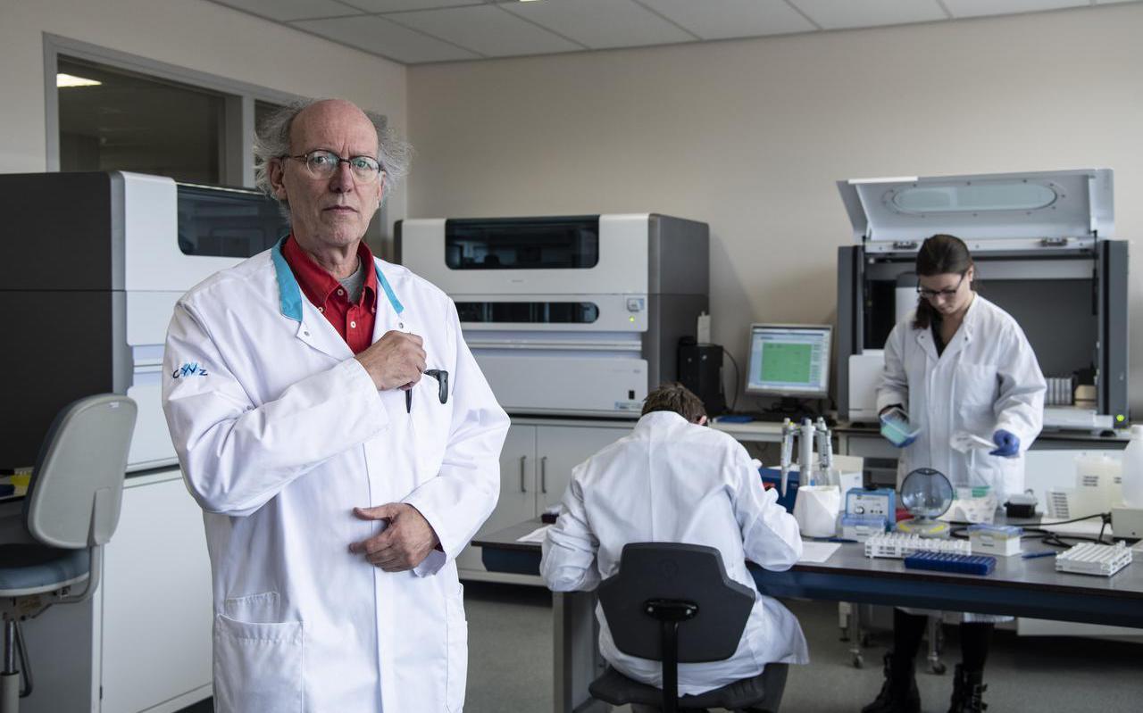 Bert Mulder, arts-microbioloog en lid van het Red Team C19NL. Foto: Paul Rapp